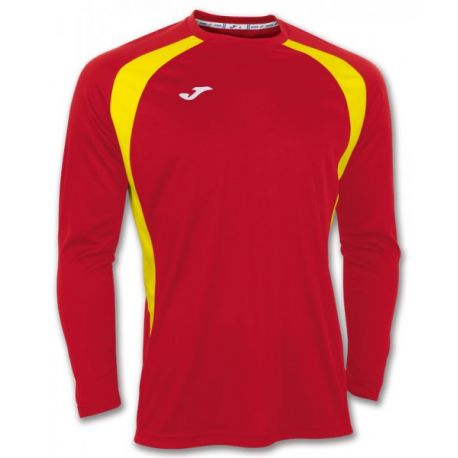 TRICOU CHAMPION III RED-YELLOW L/S