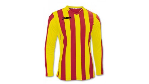 TRICOU COPA RED-YELLOW L/S