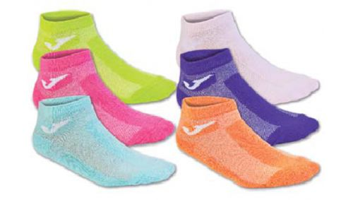 INVIS SOCKS MIX 2PINK-2GREEN-PURP-OR -PACK 12 PRS-