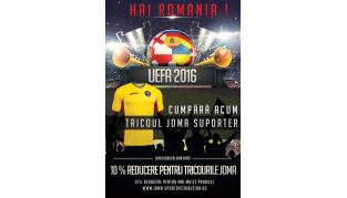 Discount Joma pentru Campionatul European de Fotbal 2016