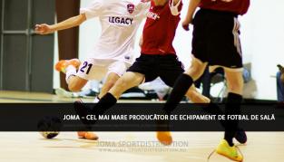 Joma – cel mai mare producător de echipament de fotbal de sală