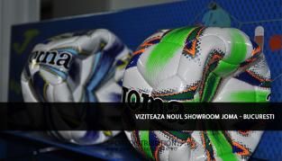 Viziteaza Showroom-ul Joma Sport Distribution din Bucuresti